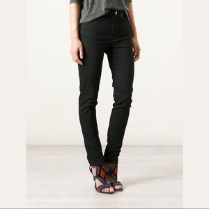 2 DAY SALE Acne Kex Black Mid Rise Skinny Jeans